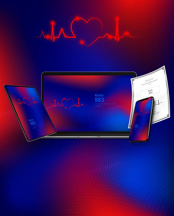 digitalni numerički kod za računalo, telefon i tablet